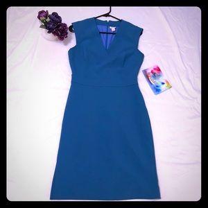 Blue J Crew work dress